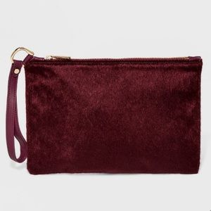 Anthropologie A New Day Classic Wristlet Clutch